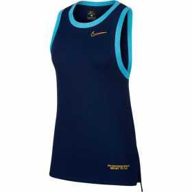 BV9237-492_Débardeur Nike Dri-FIT basketball Bleu pour Femme