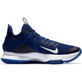 CV4004-400_Chaussure de Basketball Nike LeBron Witness 4 Bleu pour homme