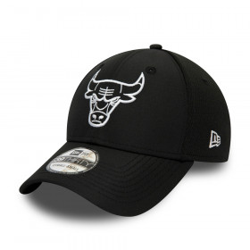 12490131_Casquette NBA Chicago Bulls New Era Dashback 39Thirty Noir