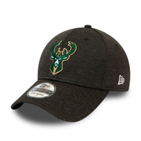 12490323_Casquette NBA Milwaukee Bucks New Era Black base team Pop 39Thirty Noir