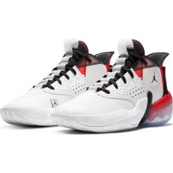 Chaussure de Basket Jordan React Elevation Blanc RD pour homme