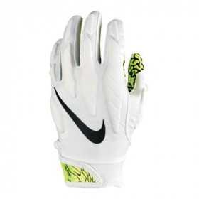 N0002726-102_Gant de football américain Nike Superbad 5.0 Blanc Volt pour Junior