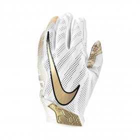 N0000944-927_Gant de football américain Nike vapor Knit 3.0 pour receveur Blanc Gold