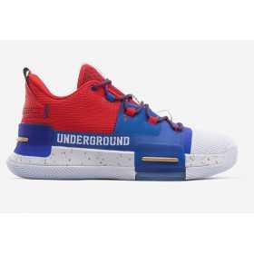 """E94455A_Chaussure de Basketball Peak Lou Williams 3 """"Underground"""" multicolor pour homme"""