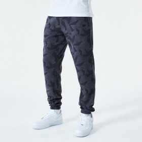 Pantalone New Era Geometric Camo jogger gris para hombre