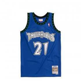 Maillot NBA Kevin Garnett Minnesota Timberwolves 2003-04 Mitchell & ness hardwood classic bleu