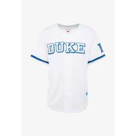 Maillot de Baseball NCAA Caroline du Nord Duke Mitchell & ness Mesh blanc pour Homme