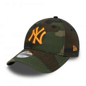 12381205_Casquette MLB New York Yankees New Era Camo Essential 9Forty pour Enfant