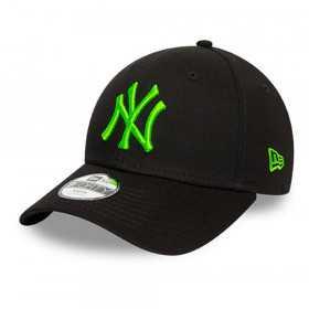 12386818_Casquette MLB New York Yankees New Era League Basic 9Forty Noir pour Enfant