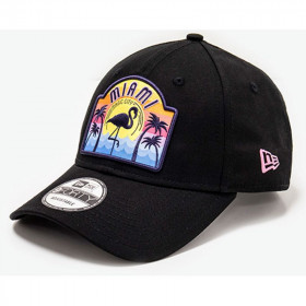 12150286_Casquette New era USA patch 9Forty Noir