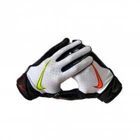 N1000605-934_Gant de football américain Nike vapor Jet 6.0  pour receveur Blanc BK