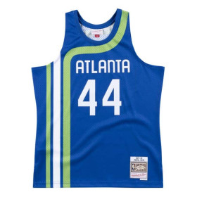 Maillot NBA swingman Pete Maravich Atlanta Hawks 1971-72 Hardwood Classics Mitchell & ness Bleu marine