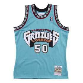 Maillot NBA Shareef Abdur Rahim Vancouver Grizzlies 1995-96 Mitchell & ness Hardwood Classics swingman bleu