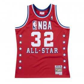 Maillot NBA swingman Magic Johnson All Star 1988 Hardwood Classics Mitchell & ness rouge
