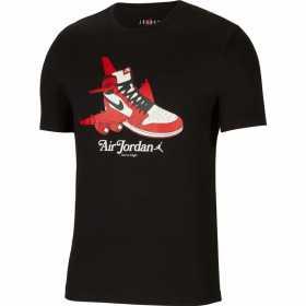CN3596-010_T-shirt Jordan Brand 1 Noir pour Homme