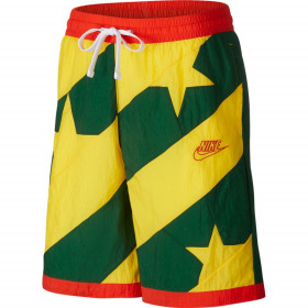CK6311-341_Short de Basket Nike Dri-fit Throwback Jaune