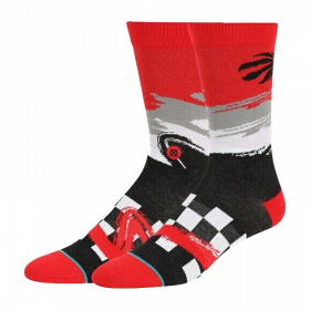 Chaussette NBA Toronto Raptors Stance Arena Wave Racer rouge