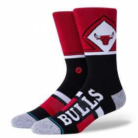 M545A20BUC_Chaussettes NBA Chicago Bulls Stance Arena ShortCut 2 Rouge