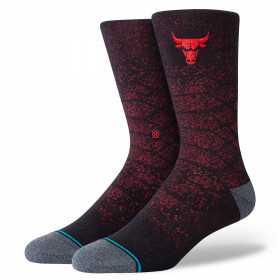 Chaussettes NBA Chicago Bulls Stance SnakeSkin noir