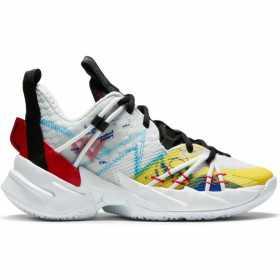 """CN8107-100_haussure de Basketball Jordan Why not zer0.3 SE (GS) """"Primary Colors"""" pour junior"""