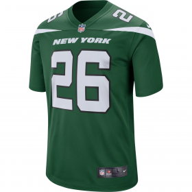 Maillot NFL Le'Veon Bell New York Jets Nike Game Team colour Vert