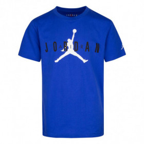 955175-U5H_T-shirt Jordan Brand 5 Bleu Bleu Pour Enfant