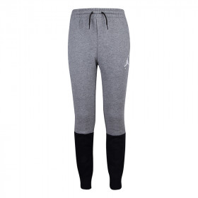 957725-K6N_Pantalon Jordan Jumpman Air fleece Gris pour enfant