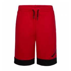 Short Jordan Jumpman Air Fleece Rojo para nino