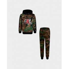 Sudadera y pantalones Jordan Jumpman Classics III Fleece camo para nino
