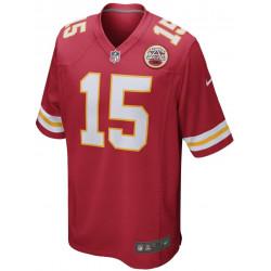 Maillot NFL Patrick Mahomes Kensas City Chiefs Nike Game Team colour Rouge