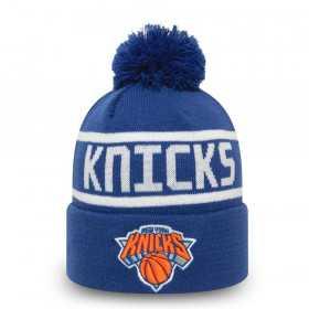 12490005_Bonnet NBA New York Knicks New Era Team jake Bobble Bleu