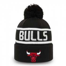 12490008_Bonnet NBA Chicago Bulls New Era Team jake Bobble Noir