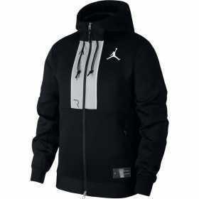 Sudadera Jordan Fleece Full-Zip Hoodie Negro para hombre
