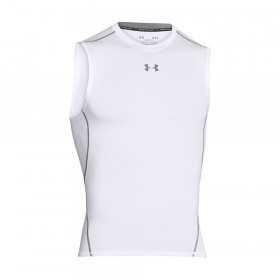 Camiseta Under Armour HeatGear compression Blanco para hombre