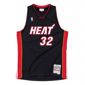 Maillot NBA Shaquille O'neal Miami Heat Floridians 2005-06 Mitchell & ness Hardwood Classic swingman Noir