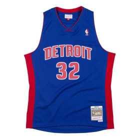 "Camiseta NBA Richard ""RIP"" Hamilton Detroit Pistons 2003-04 Mitchell & ness Hardwood Classic Swingman Azul"