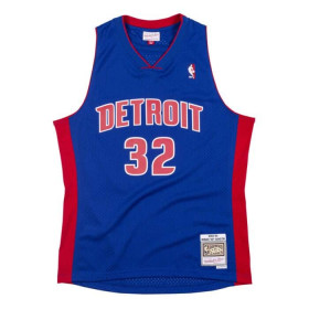 "Maillot NBA Richard ""RIP"" Hamilton Detroit Pistons 2003-04 Mitchell & ness Hardwood Classic Swingman Bleu"