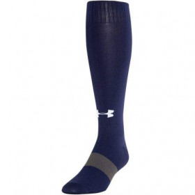1315607-410_Chaussettes longue Under Armour Solid over Bleu marine