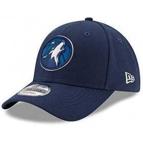 11486911_Casquette NBA Minnesota Timberwolves New Era The League Bleu marine