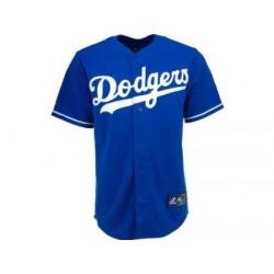 Majestic Replica Jersey Los Angeles Dodgers bleu