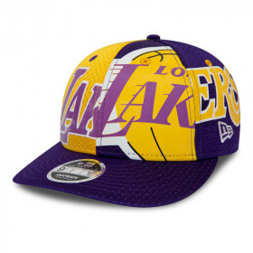 12285329_Casquette NBA Los Angeles Lakers New Era All Over Low Profile Jaune