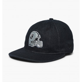 Men's New Era Team Helmet NFL Oakland Raiders Black