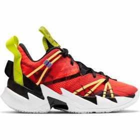 Zapatos de baloncesto Jordan Why not zer0.3 SE (GS) rojo para nino