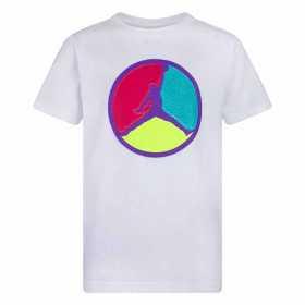 T-shirt Jordan Jumpman Patch Work blanco para nino