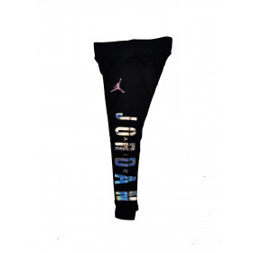 Legging Jordan Color Blocked Negro para Nina