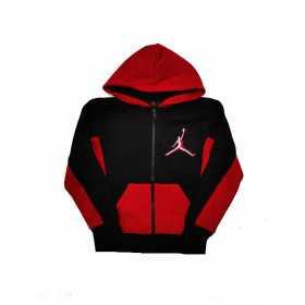 Sudadera zip Jordan Arc Fleece Hoody negro para nino