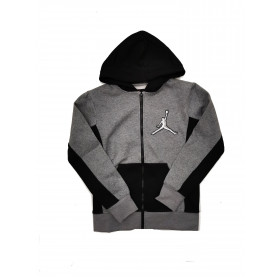 95A192-GEH_Sweat zippé à capuche Jordan Arc Gris pour Junior