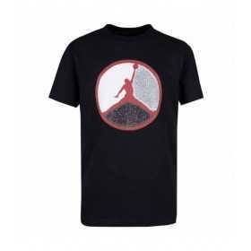 T-shirt Jordan Jumpman Patch Work negro para nino