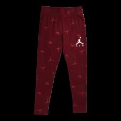 Legging Jordan Jumpman luxe court rouge pour Fille