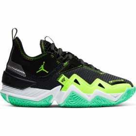 Zapatos de baloncesto Jordan Westbrook One Take verde para nino